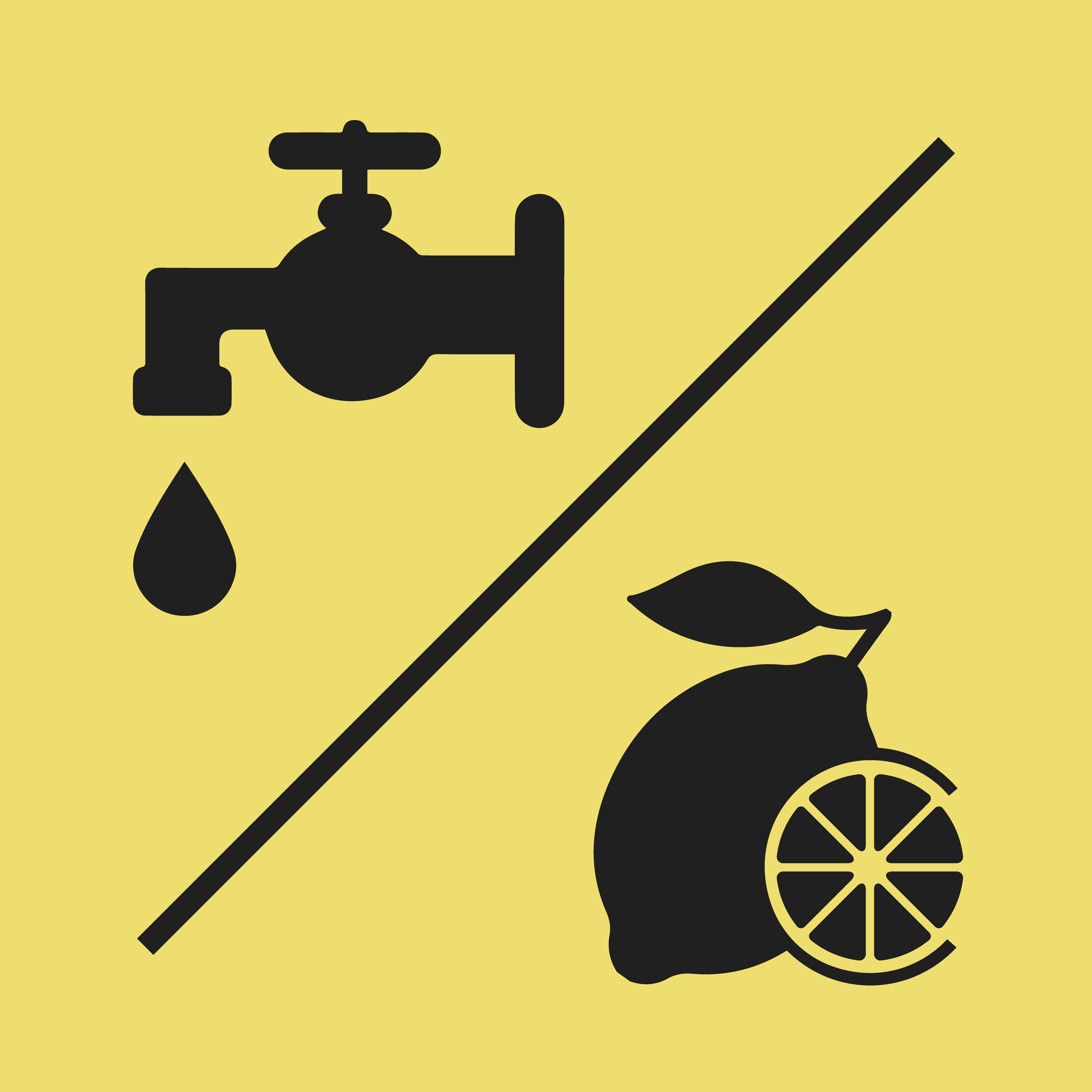 Water / Lemon